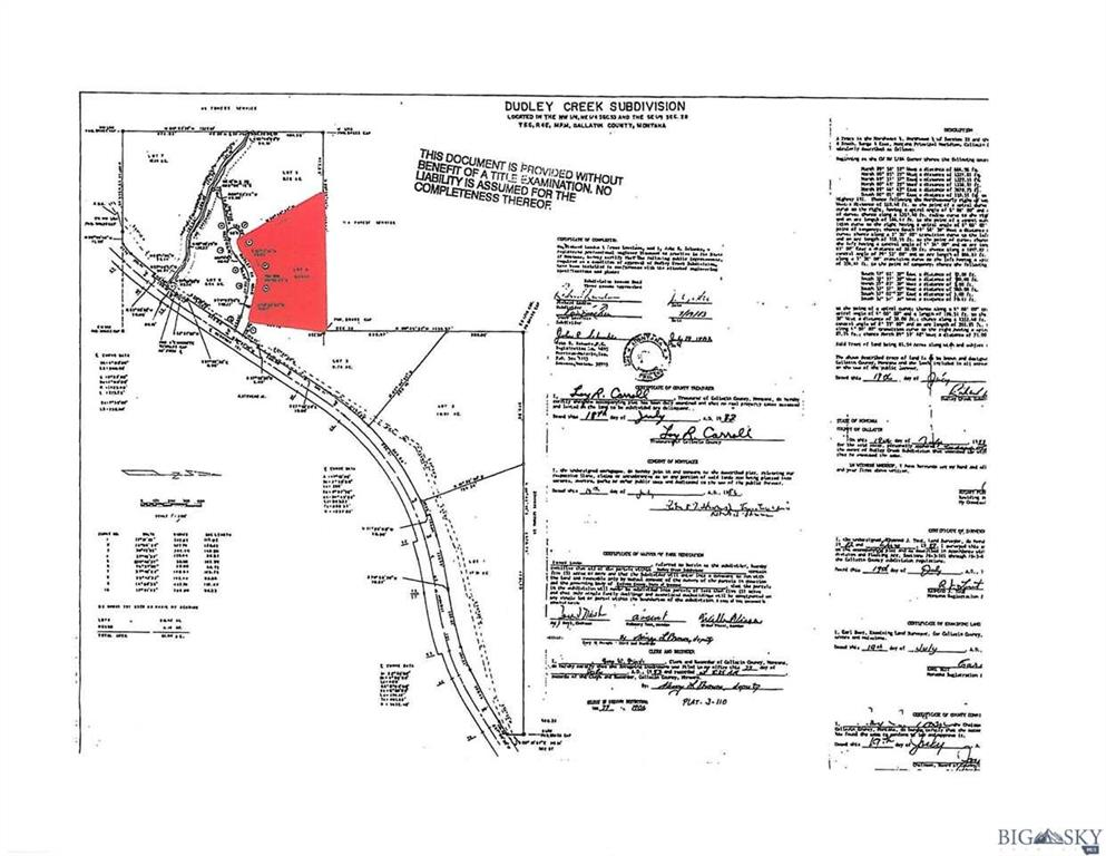 Lot4 Lower Dudley Crk Road  Gallatin Gateway Photo 12
